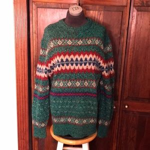 American Eagle Vintage Wool Sweater Size Large